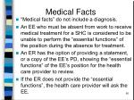 medical facts