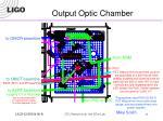 output optic chamber