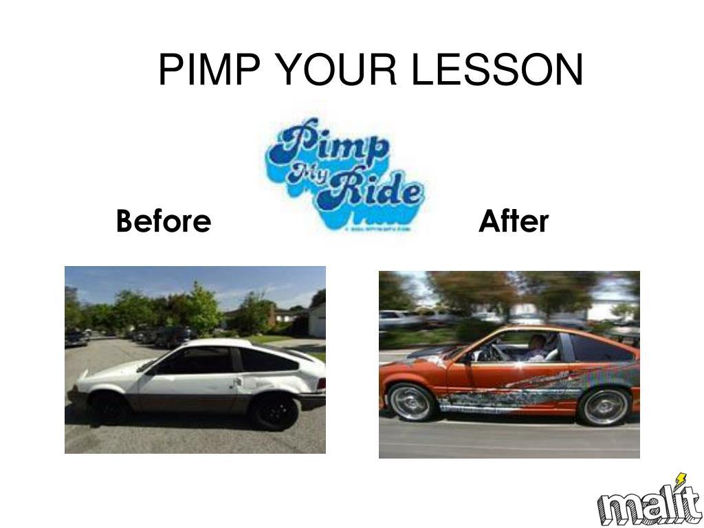 PIMP YOUR LESSON