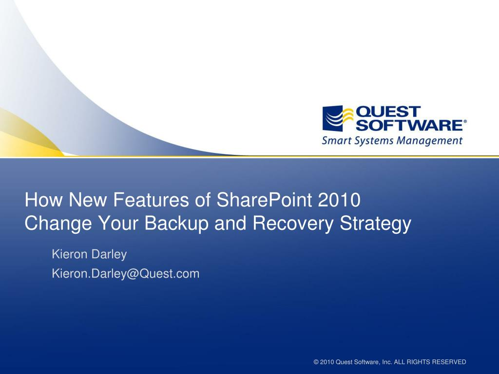 How New Features of SharePoint 2010