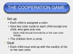 the cooperation game51