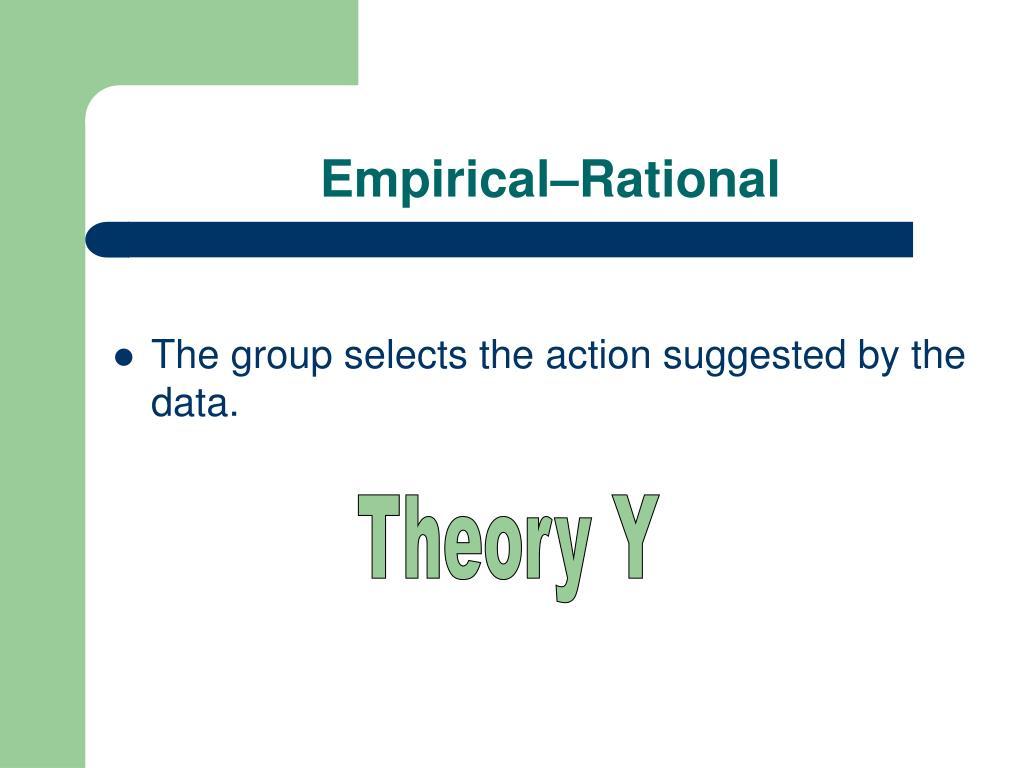 Empirical–Rational