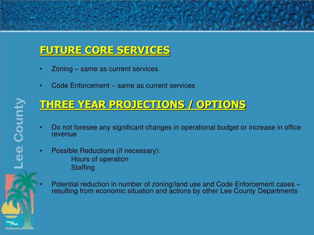 FUTURE CORE SERVICES