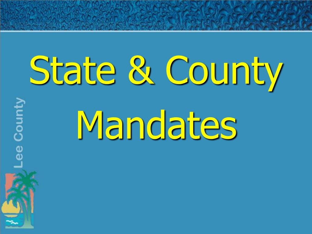State & County