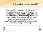 ec funded research on ict