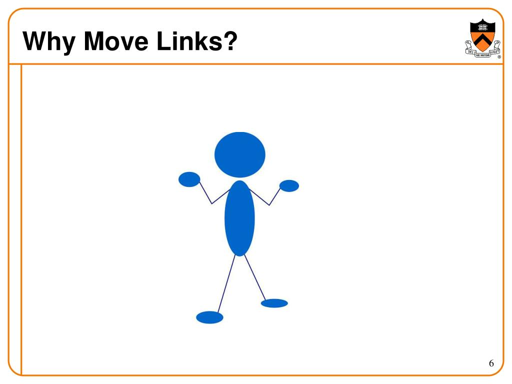 Why Move Links?