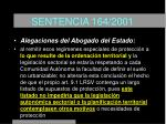 sentencia 164 200118