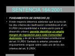 sentencia 164 200120