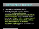 sentencia 164 200123