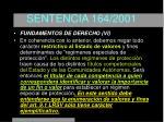 sentencia 164 200124