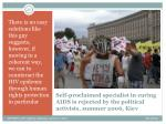 self proclaimed specialist in curing aids is rejected by the political activists summer 2006 kiev