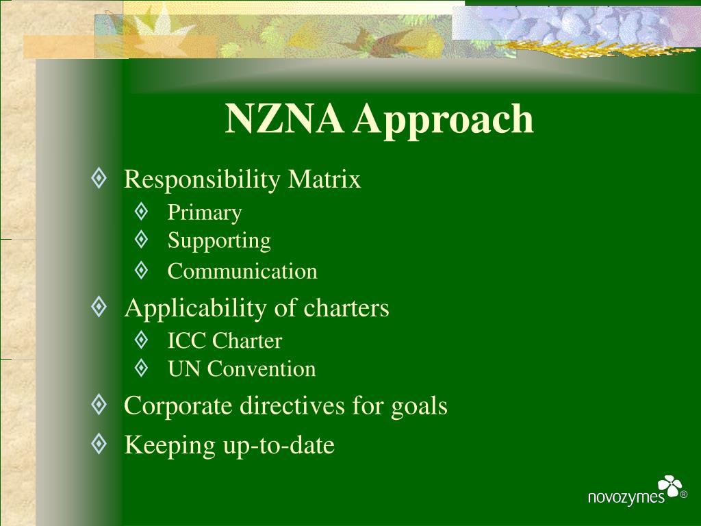 NZNA Approach