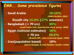 emr some prevalence figures