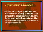 hypertension guidelines18