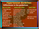 hypertension guidelines20