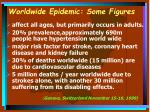 worldwide epidemic some figures