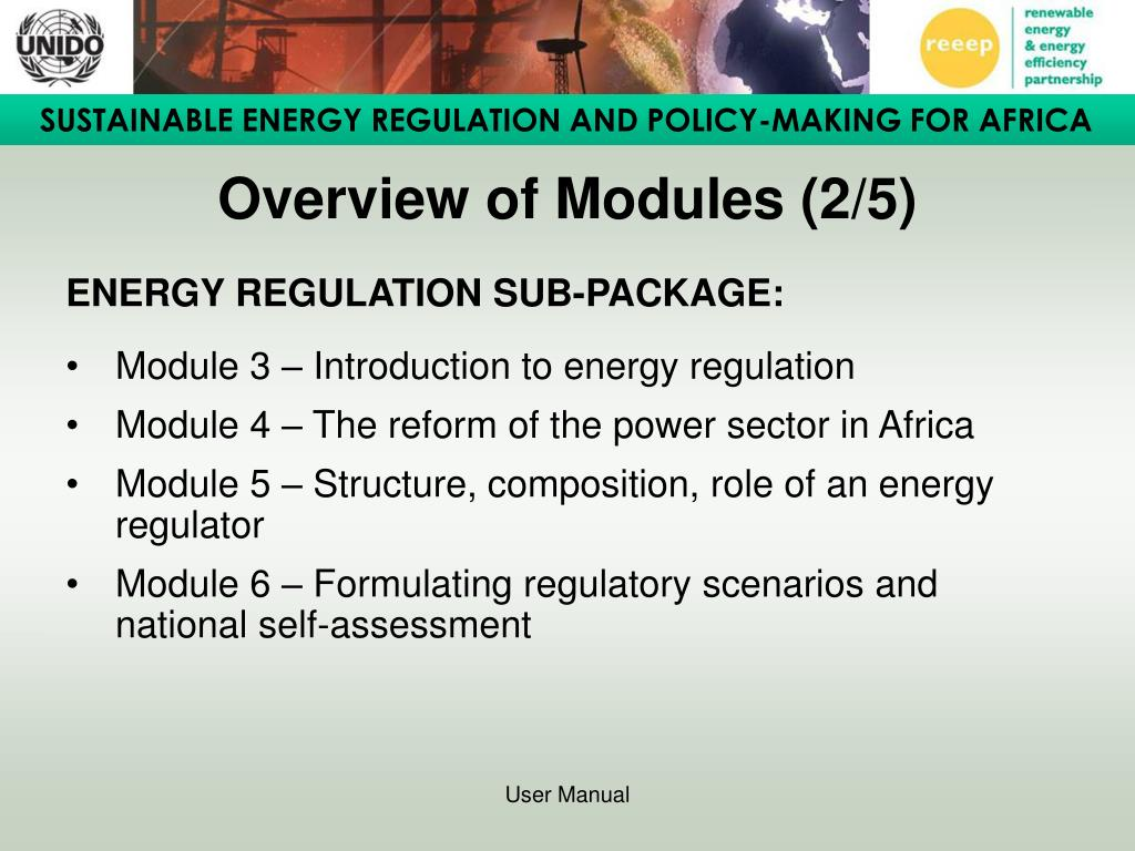 Overview of Modules (2/5)