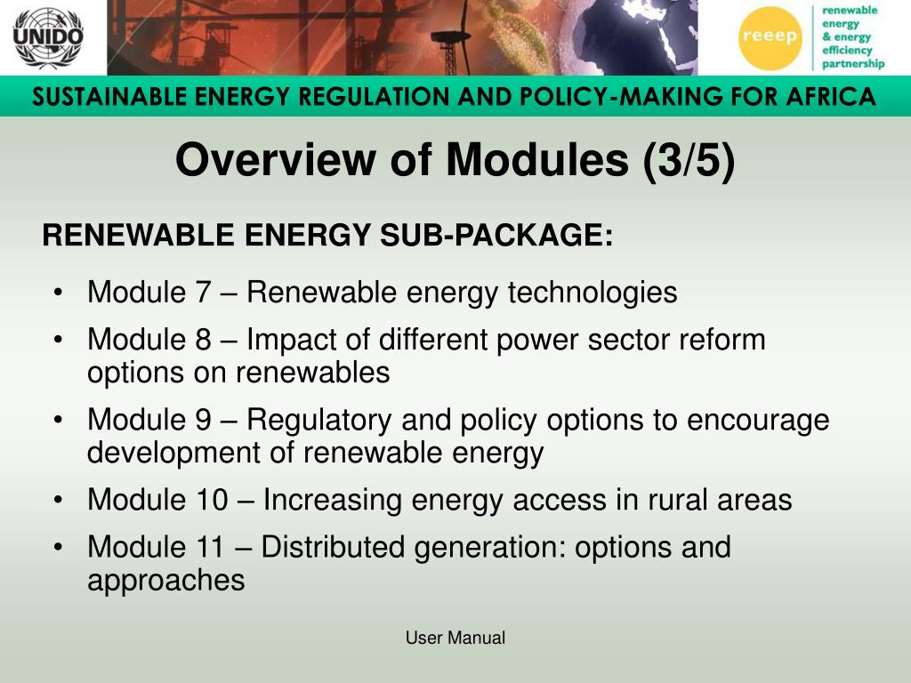 Overview of Modules (3/5)