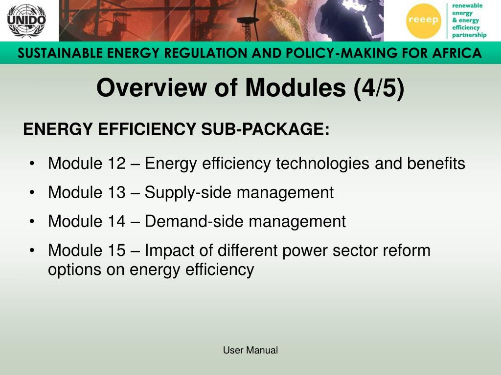 Overview of Modules (4/5)