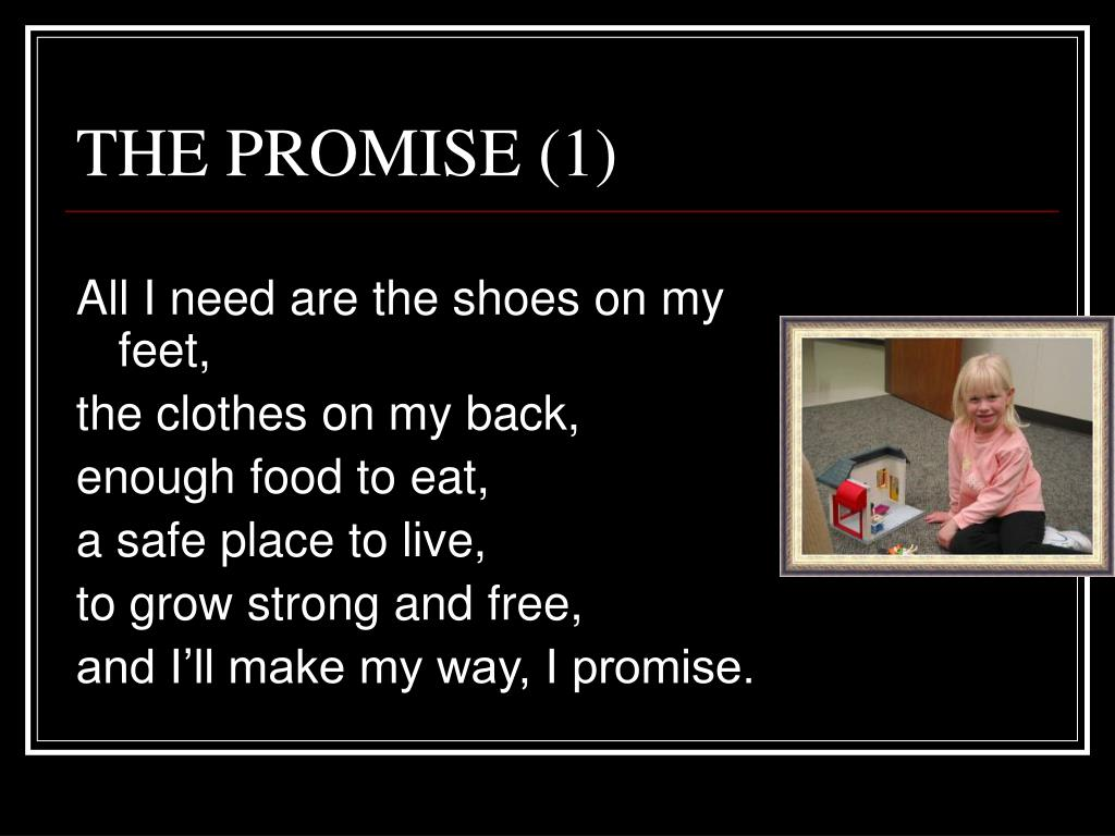 THE PROMISE (1)