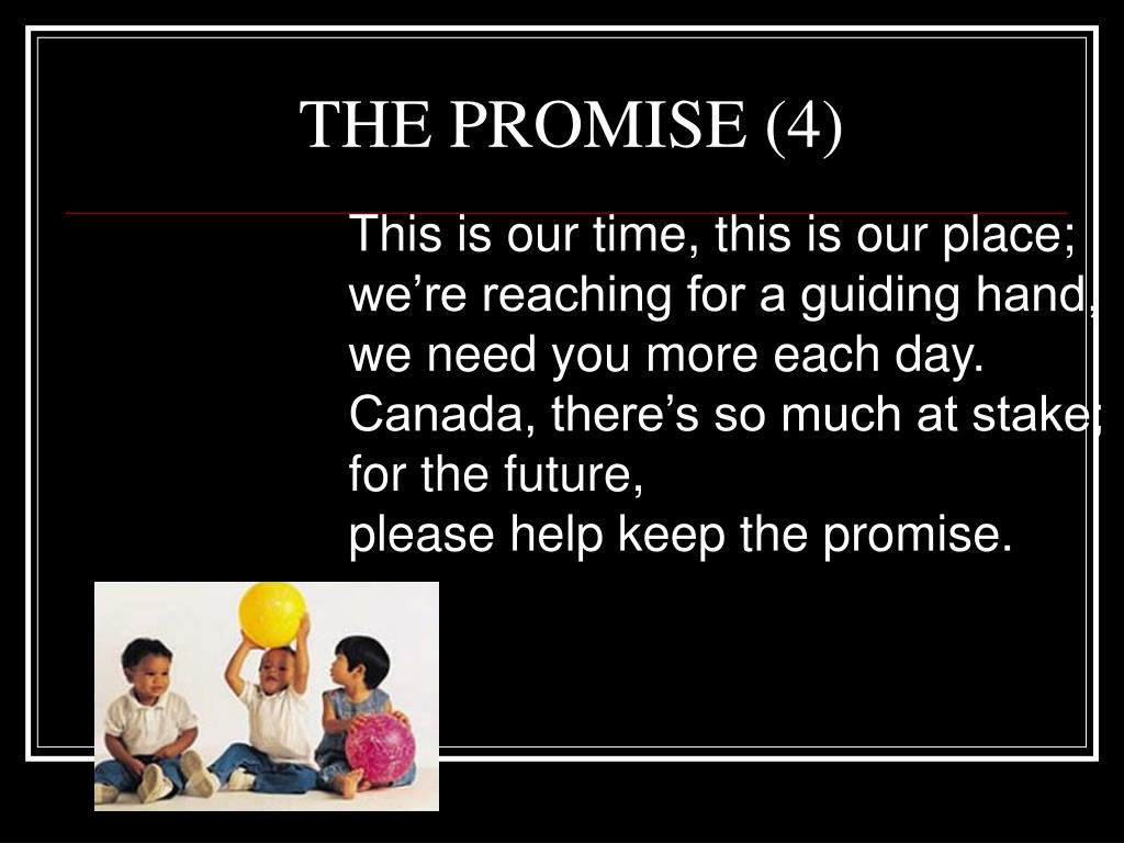 THE PROMISE (4)