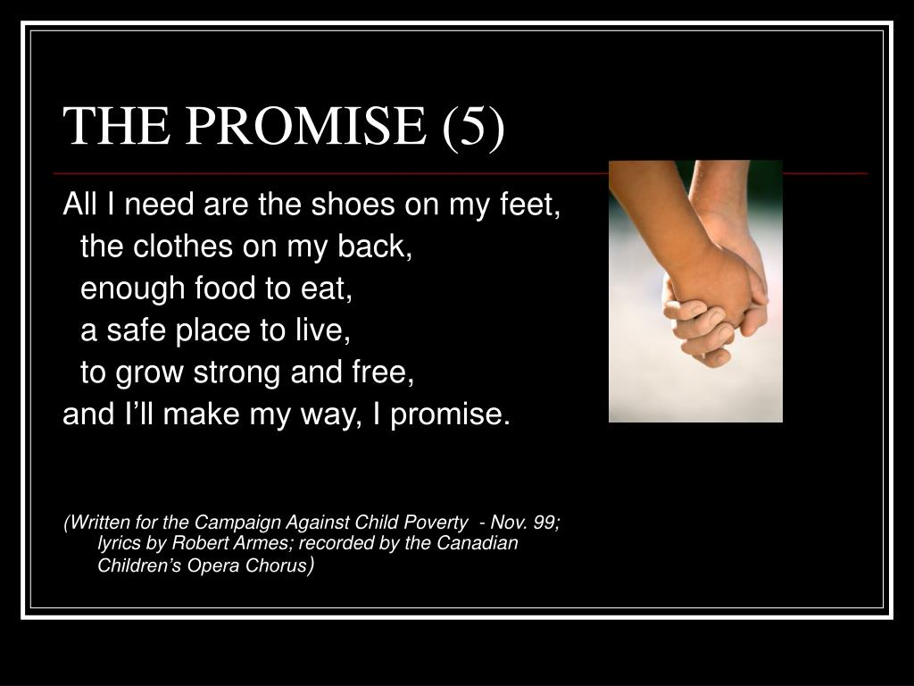 THE PROMISE (5)