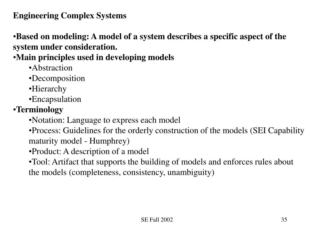 Engineering Complex Systems