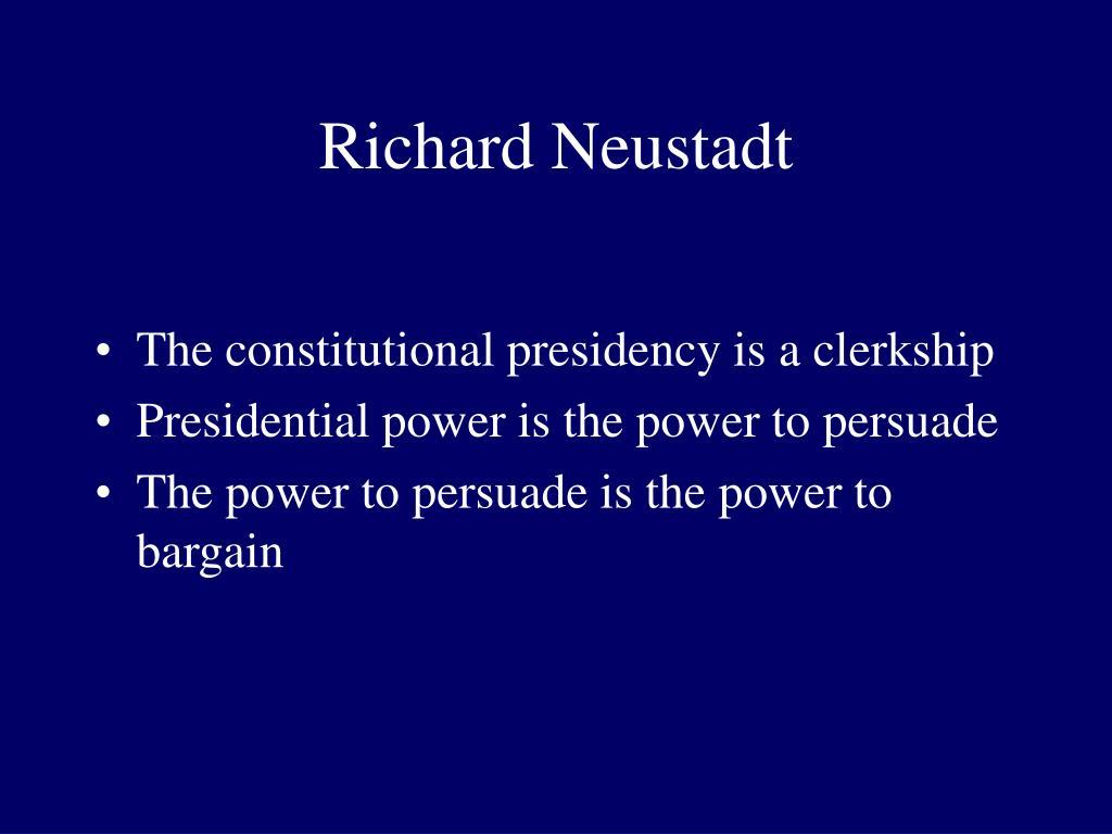 Richard Neustadt