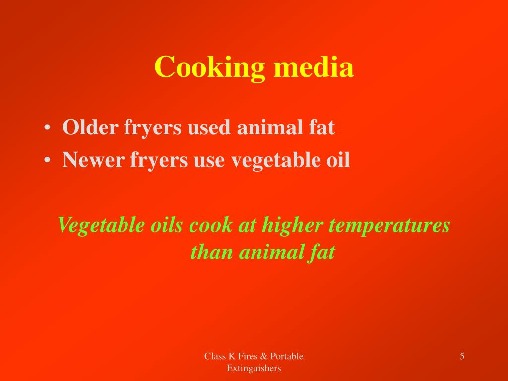Cooking media