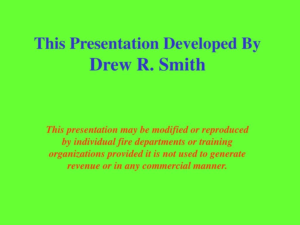 This Presentation Developed By