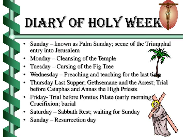 Diary of holy week2