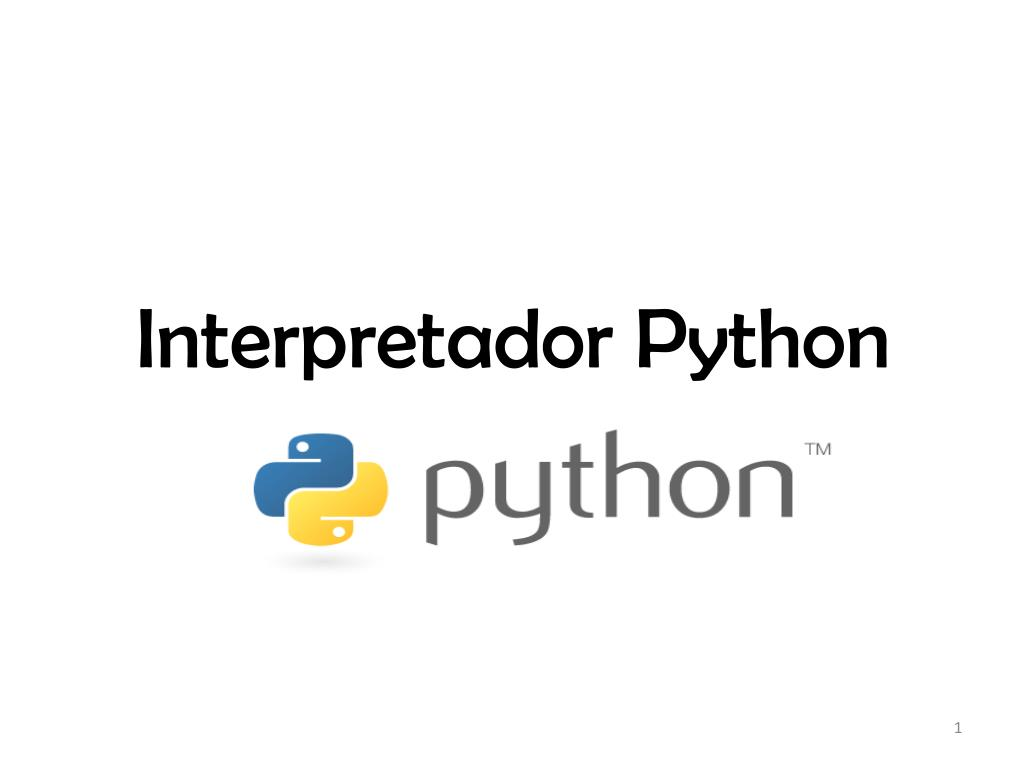 interpretador python l.