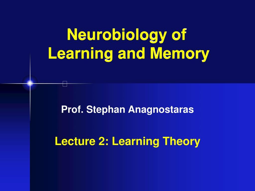 Neurobiology of