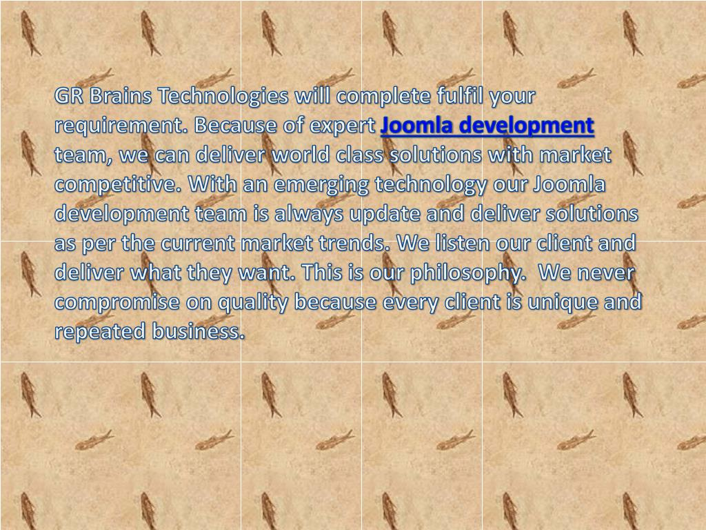 GR Brains Technologies will complete fulfil your requirement. Because of expert