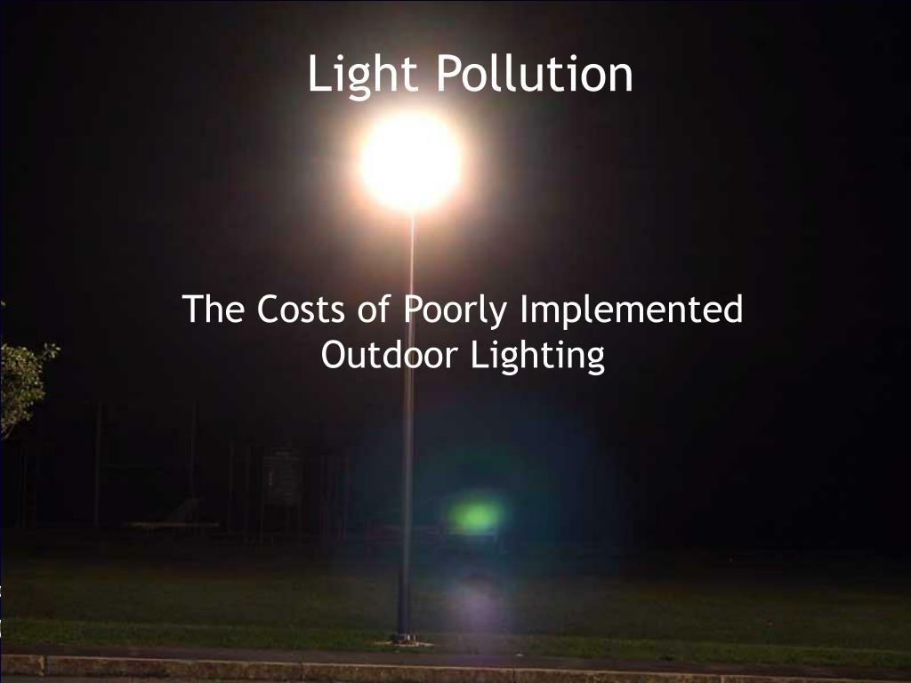 light pollution l.
