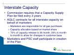 interstate capacity
