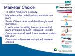 marketer choice