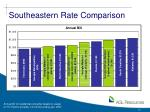southeastern rate comparison