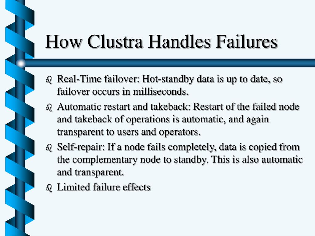 How Clustra Handles Failures