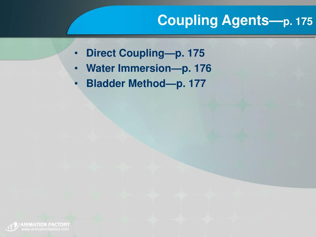 Coupling Agents—
