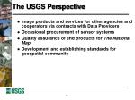 the usgs perspective