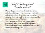 jung s archetypes of transformation14