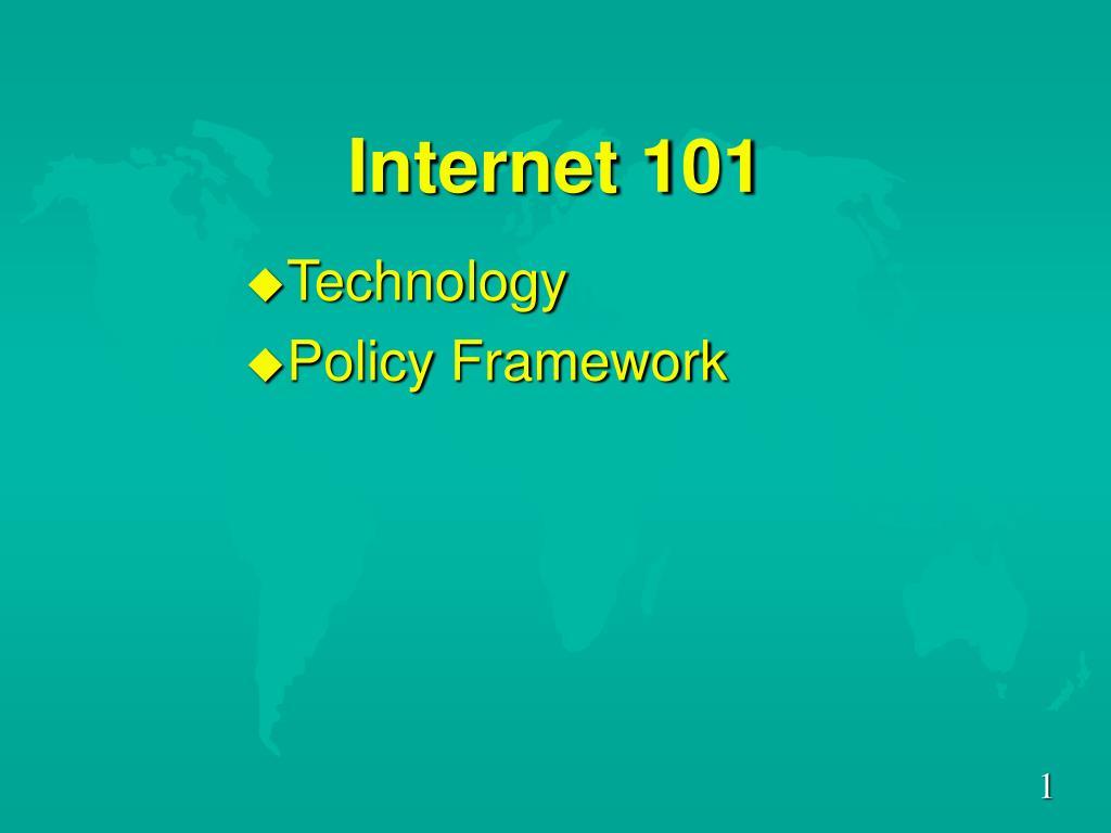 internet 101 l.