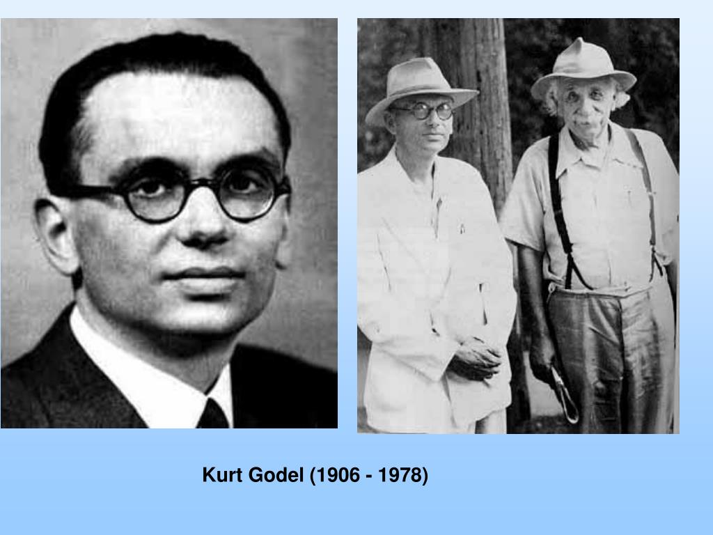 Kurt Godel (1906 - 1978)