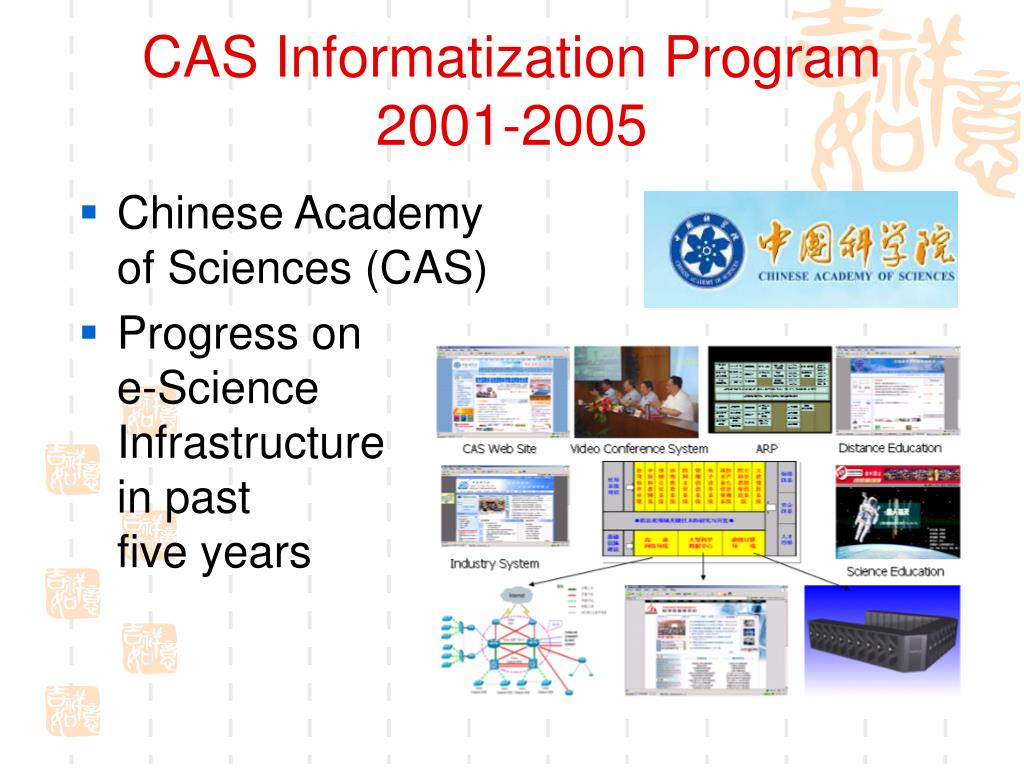 CAS Informatization Program