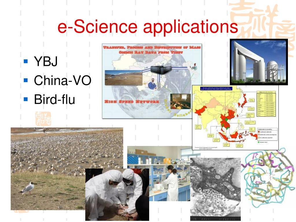 e-Science applications