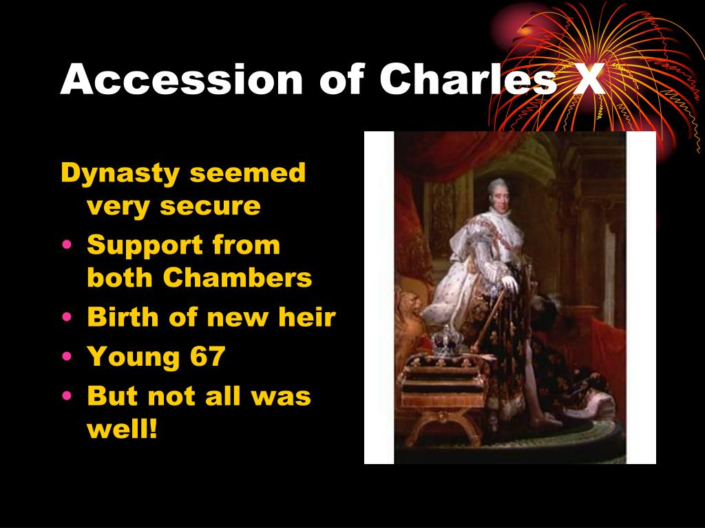 Accession of Charles X