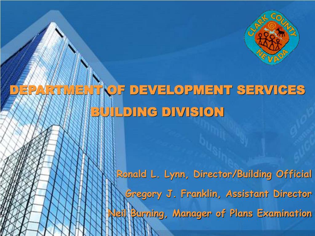 department of development services building division l.