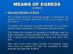 means of egress continued9
