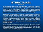 structural continued